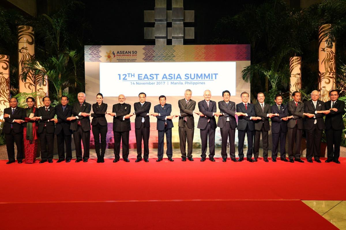Biển Đông trong Tuyên Bố Chủ Tịch Hội Nghị Thượng Đỉnh Đông Á 14/11/2017
