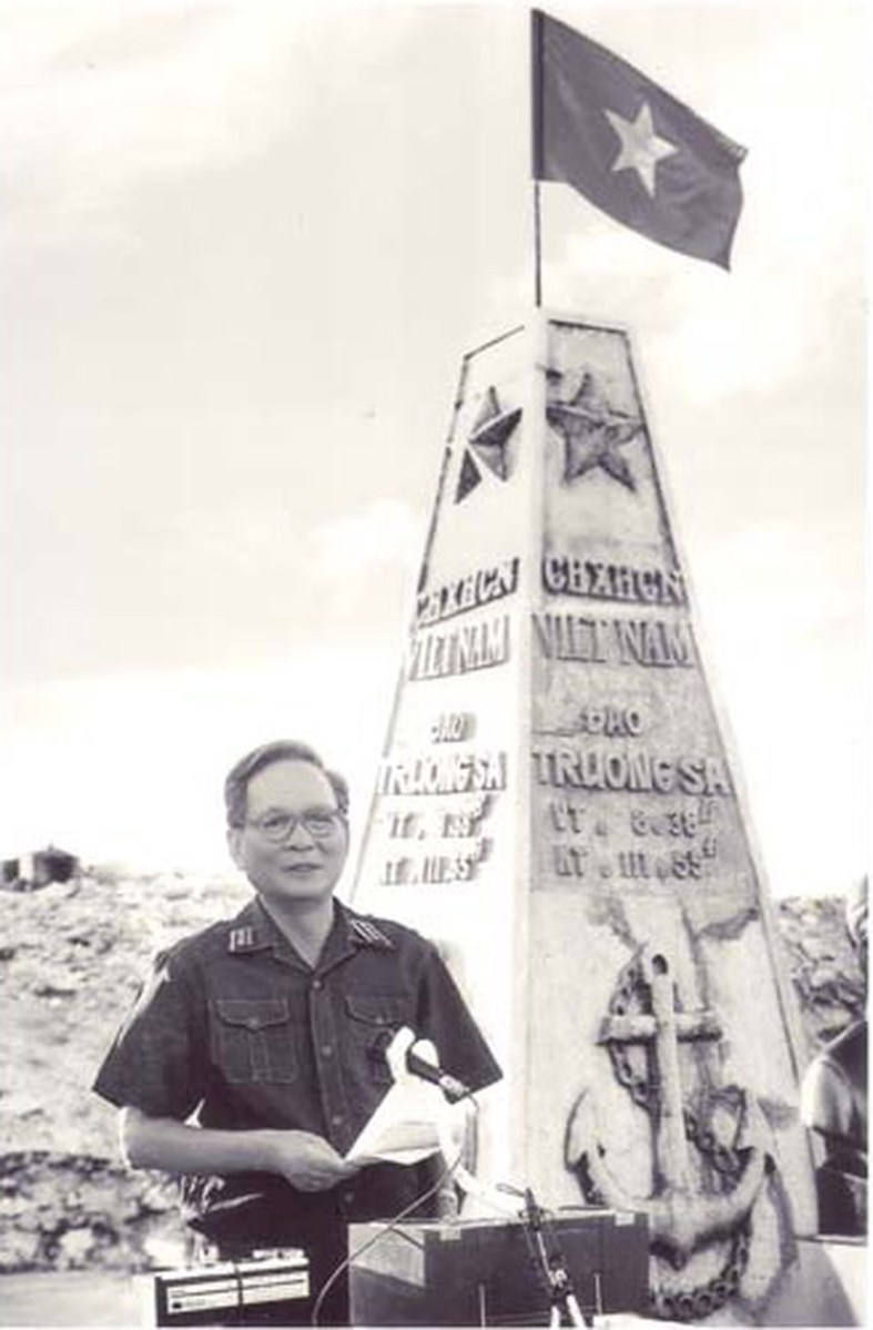 Bài Phát Biểu của Đại Tướng Lê Đức Anh tại Trường Sa Năm 1988