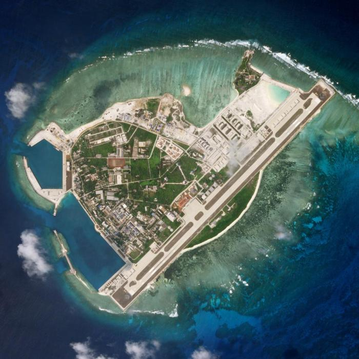 Satellite photo shows Woody Island