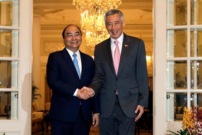 SINGAPORE-VIETNAM-DIPLOMACY